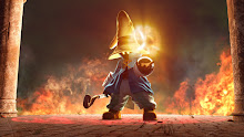 final fantasy flames fantasy mage black fire vivi final fantasy ix 1920x1080 wallpaper Wallpaper