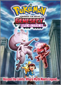 Pokémon O Filme 16: Genesect e a Lenda Revelada – Dublado