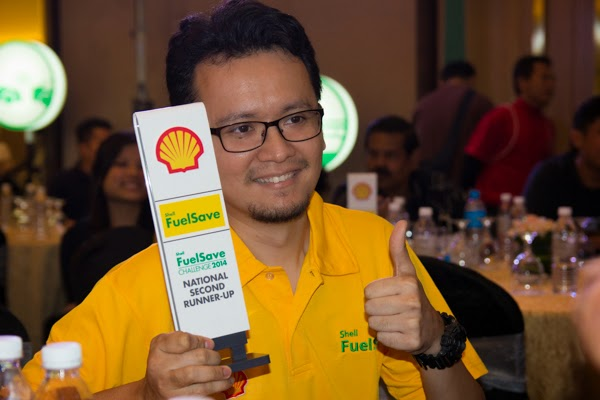 hafiz rahim pemenang ketiga cabaran shell fuelsave