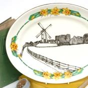 Daffodil Rural Platter