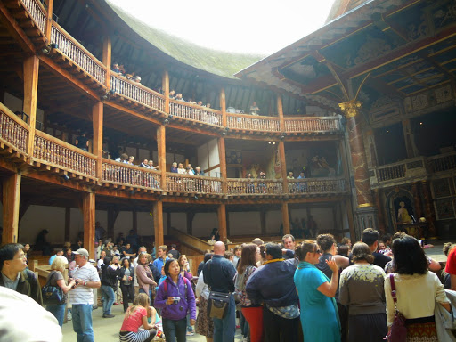 Shakespeare's Globe Theatre. From London top 10