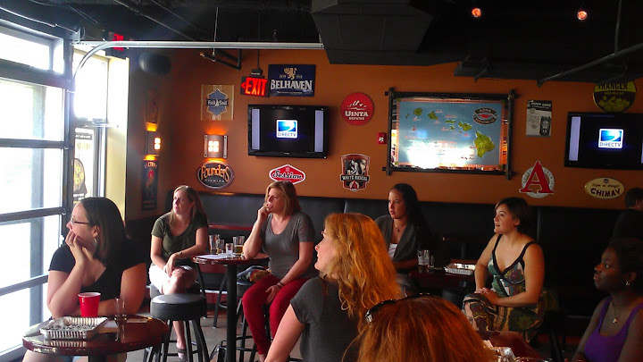 belgian beer class world of beer southend charlotte beer babes