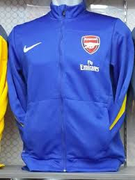 Jual Jaket Arsenal Warna Biru Fly Emirates