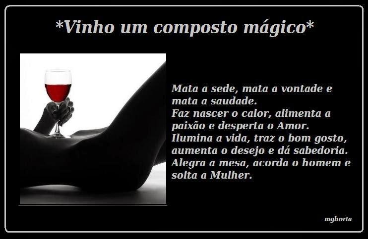 Excepcional mixordiapoetica: Vinho Mágico. NI64
