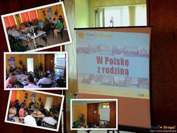 Ruszaj w Drogę - prezentacja W Polskę z rodziną