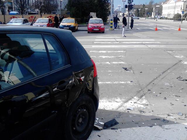 Accident în centrul Oradei #2