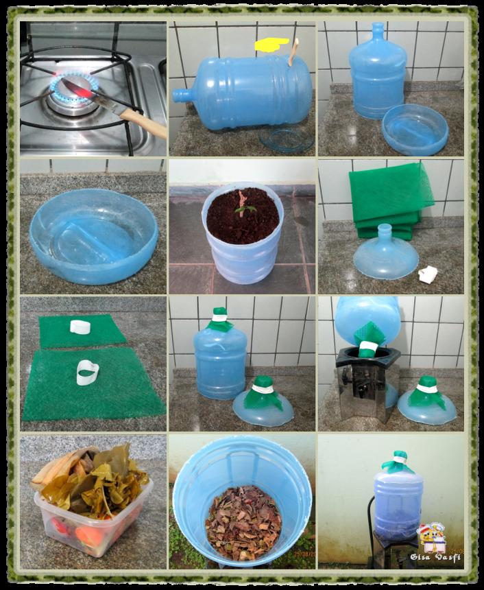 Composteira de plástico 2