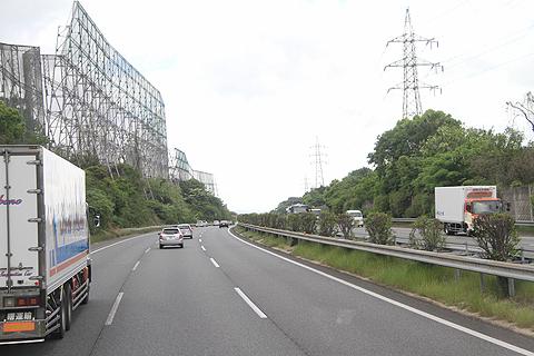 西鉄高速バス「フェニックス号」 九州道快走中