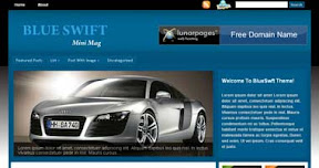 Free Wordpress Theme - BlueSwift