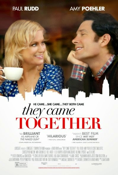 Poster Of English Movie They Came Together (2014) Free Download Full New Hollywood Movie Watch Online At Alldownloads4u.Com
