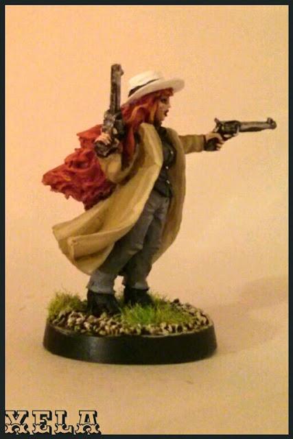 Cowgirl del Salute 2014, Black Scorpion pintada por Xela