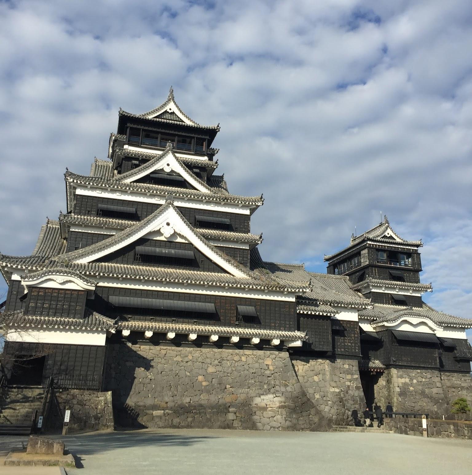 ปราสาท คุมาโมตะ คิวชู