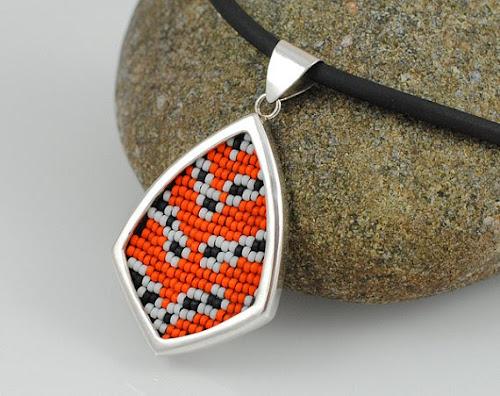 Bella Moth Pendant by Silverspot Metalworks