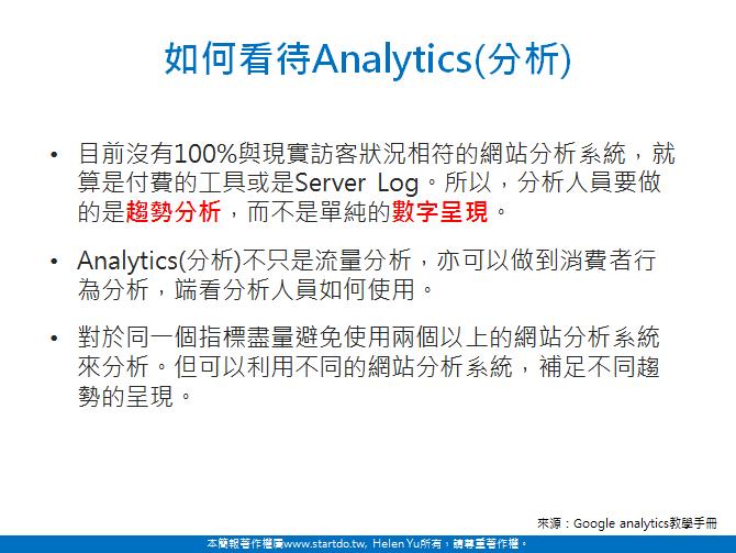 淺談網站分析-Startdo 網站分析