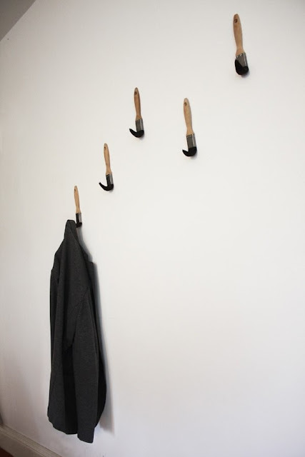 Fun, Original and Practical: Paint Brush Coat Hooks by Dominic Wilcox