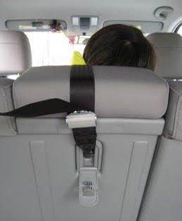 Tether Anchor On Back Of Vehicle Seat