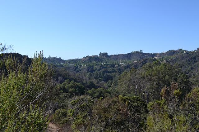 small segment of the trail