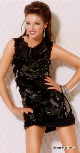 Супер быстрое вечернее платье своими руками