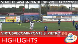 VirtusVecomp - Pontisola Highlights del 12-11-2014