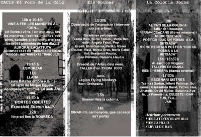 programa dels Itineraris Creatius