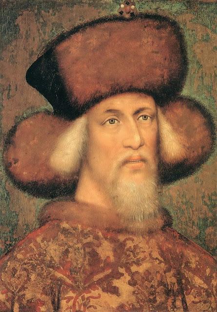 Pisanello - Sigismund, Holy Roman Emperor
