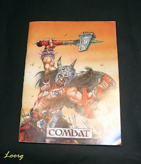 Portada del libro Combat de la 2ª Edición de Warhammer Fantasy Battle
