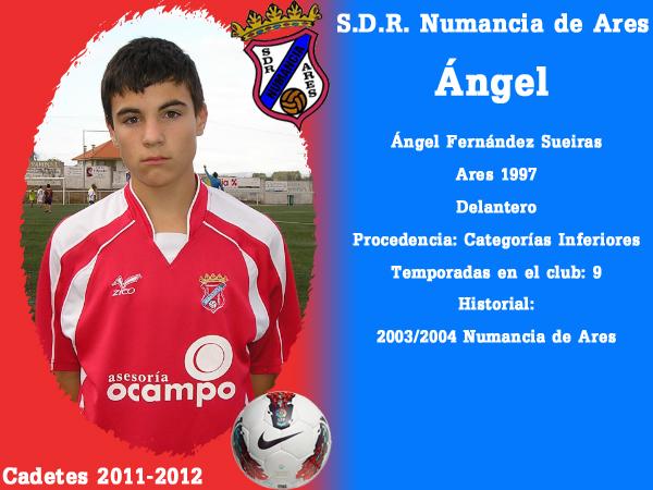 ADR Numancia de Ares. Cadetes 2011-2012. ANGEL.