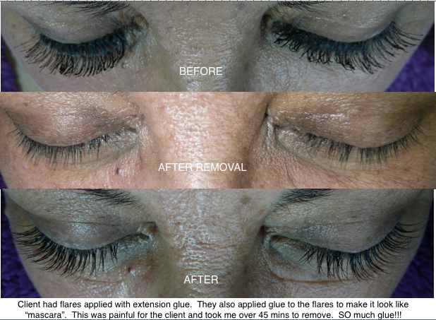 TLC by JillMarie: Cluster lashes are not Eyelash Extensions!