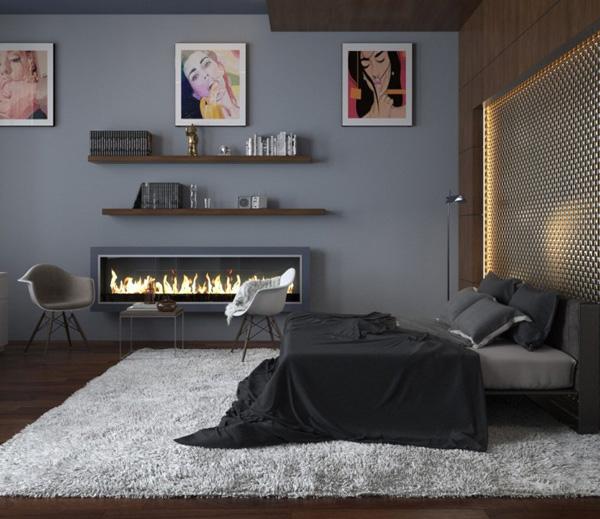Mẫu phòng ngủ theo phong cách hiện đại
