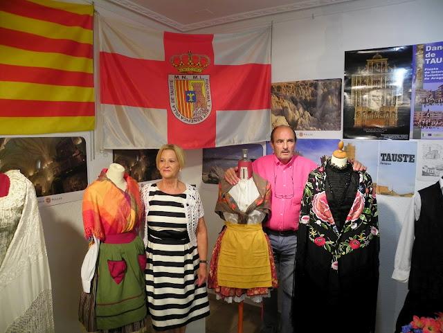 Tauste en la exposición de Suances, Cantabria