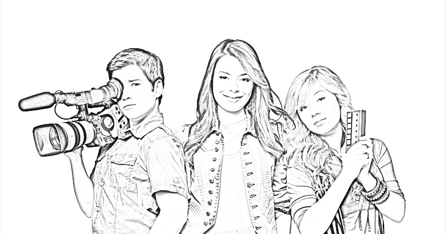 icarly printable coloring pages - photo#14