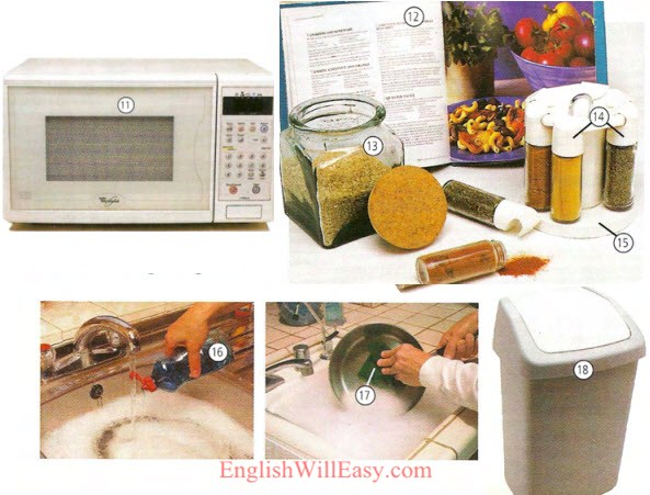 kitchen%252520 %252520Housing%252520 %252520%252520Photo%252520Dictionary%252520 4 Kitchen area – Kitchen Utensils – Kitchenware things english through pictures place english through pictures