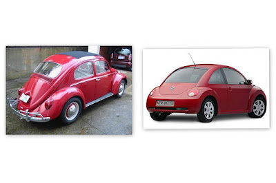 VW Bug then and now
