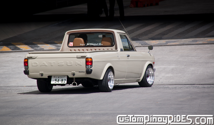 Richard Opiana 1991 Nissan Sunny Truck Custom Pinoy Rides Car Photography pic4
