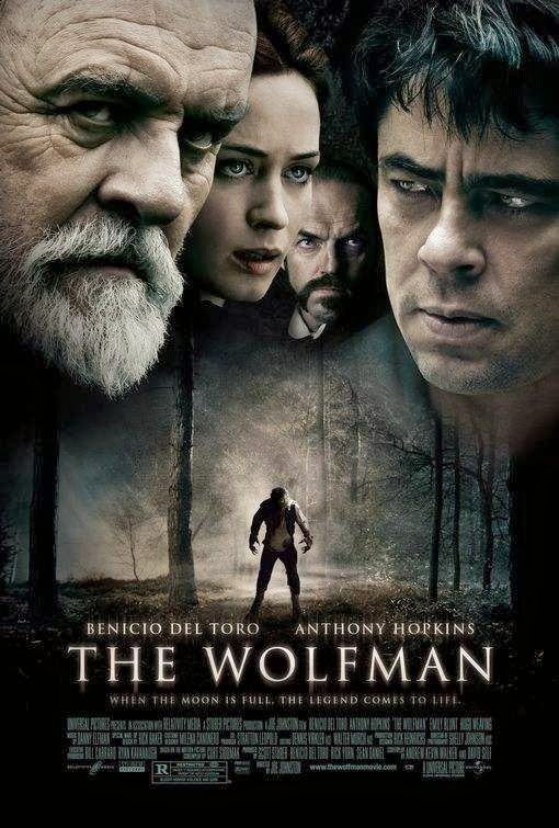 Poster Of The Wolfman (2010) Full Movie Hindi Dubbed Free Download Watch Online At Alldownloads4u.Com