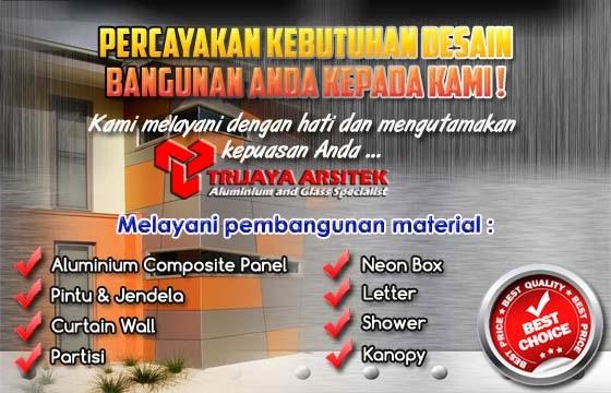 Jasa & Layanan Kami Trijaya Aluminium Indonesia