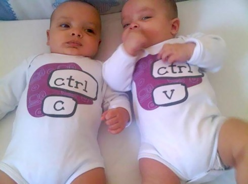 Geeky Twins Baby Clothes