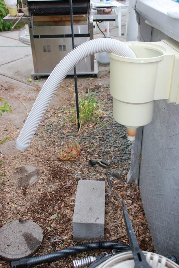 Hose connection leak