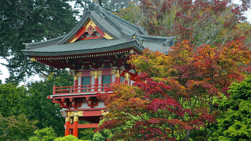 Temple Gate, Japanese Tea Garden, San Francisco, California.jpg