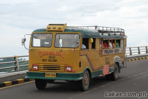 Jeep or a Bus? going to Basey, Samar