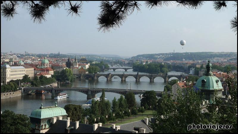 Praga desde parque Letná