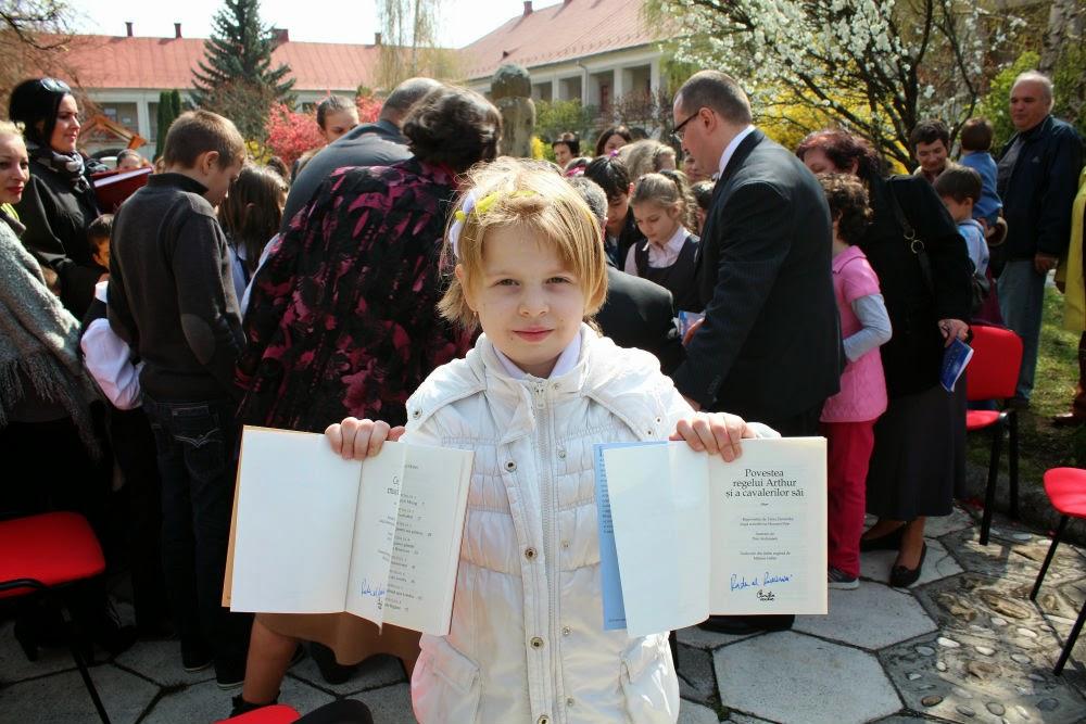 ASR Principele Radu - Lansarea Cărților Copilăriei la Bistrița