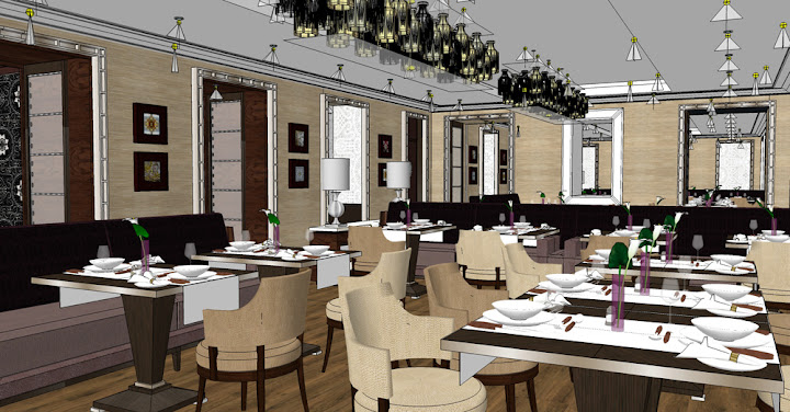 Designing hospitality interiors at Alexander James International