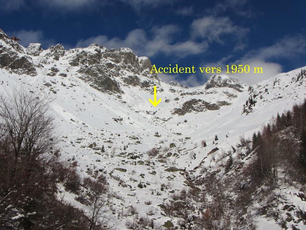 Avalanche Belledonne, secteur Belle Etoile, Montée au col de l'Aigleton - Photo 1