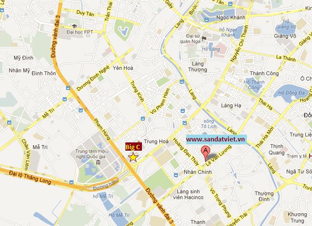 Bản đồ vị trí Sàn Đất Việt