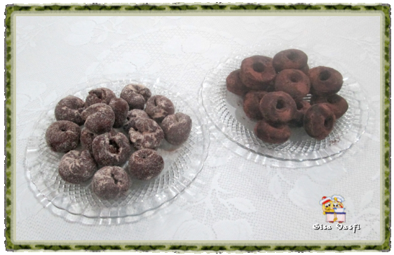 Rosquinha de chocolate 1