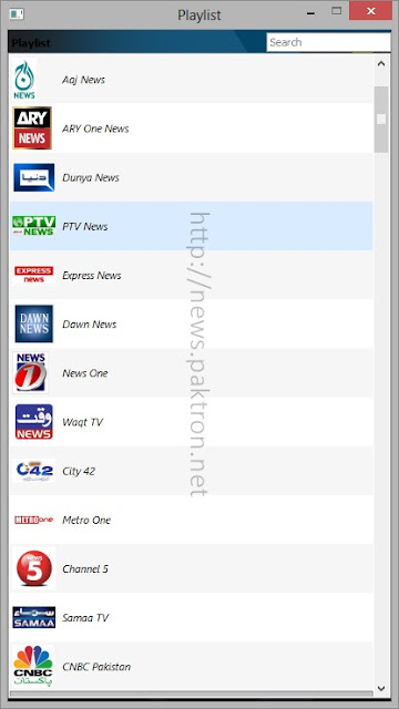 ptcl smart tv playlist