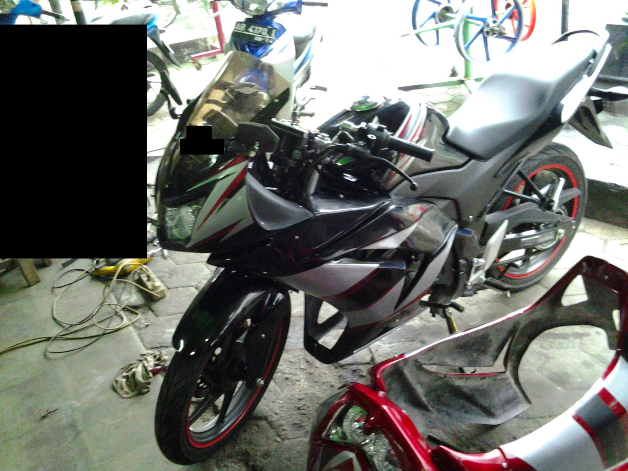 Cb150r Modifikasi Ninja 250