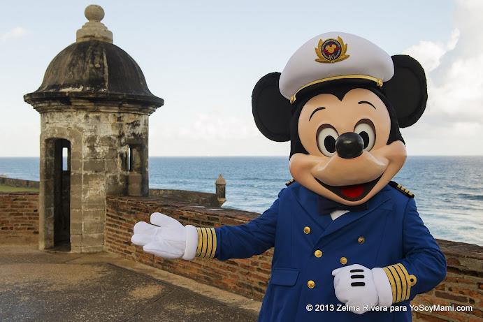 Mickey en el Castillo San Cristóbal (©Disney)