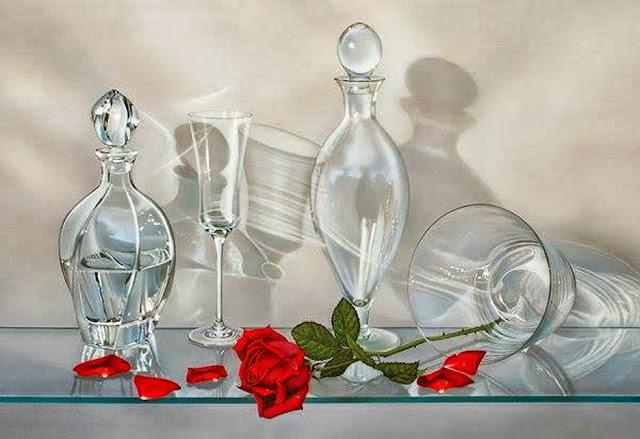 Cristales,obra del pintor Paco Yuste